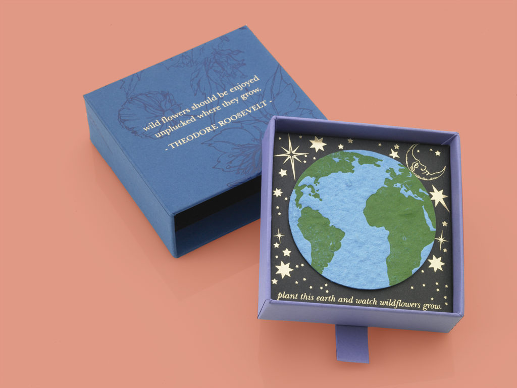 Sustainable recyclable gift packaging