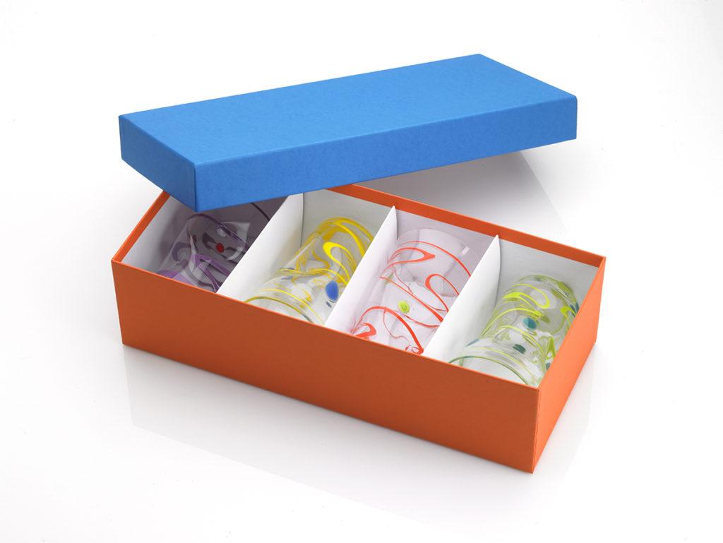 Custom rigid gift box