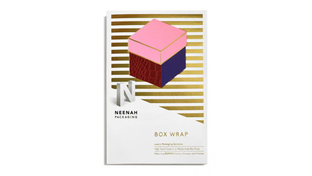 neenah box wrap swatch book