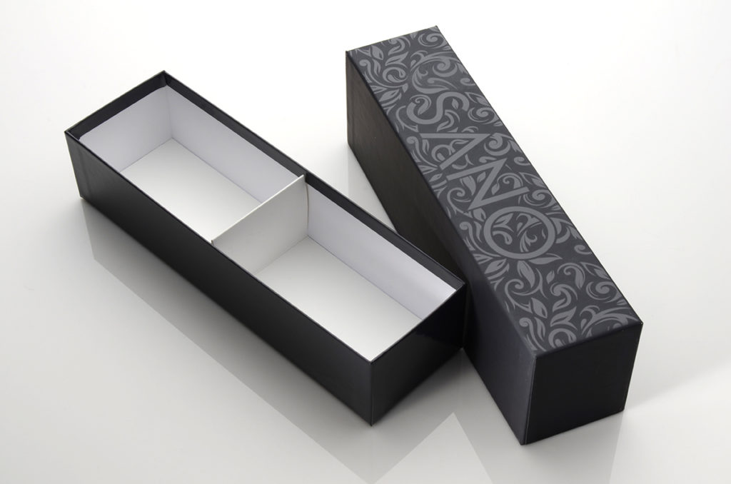 drawer style box with insert