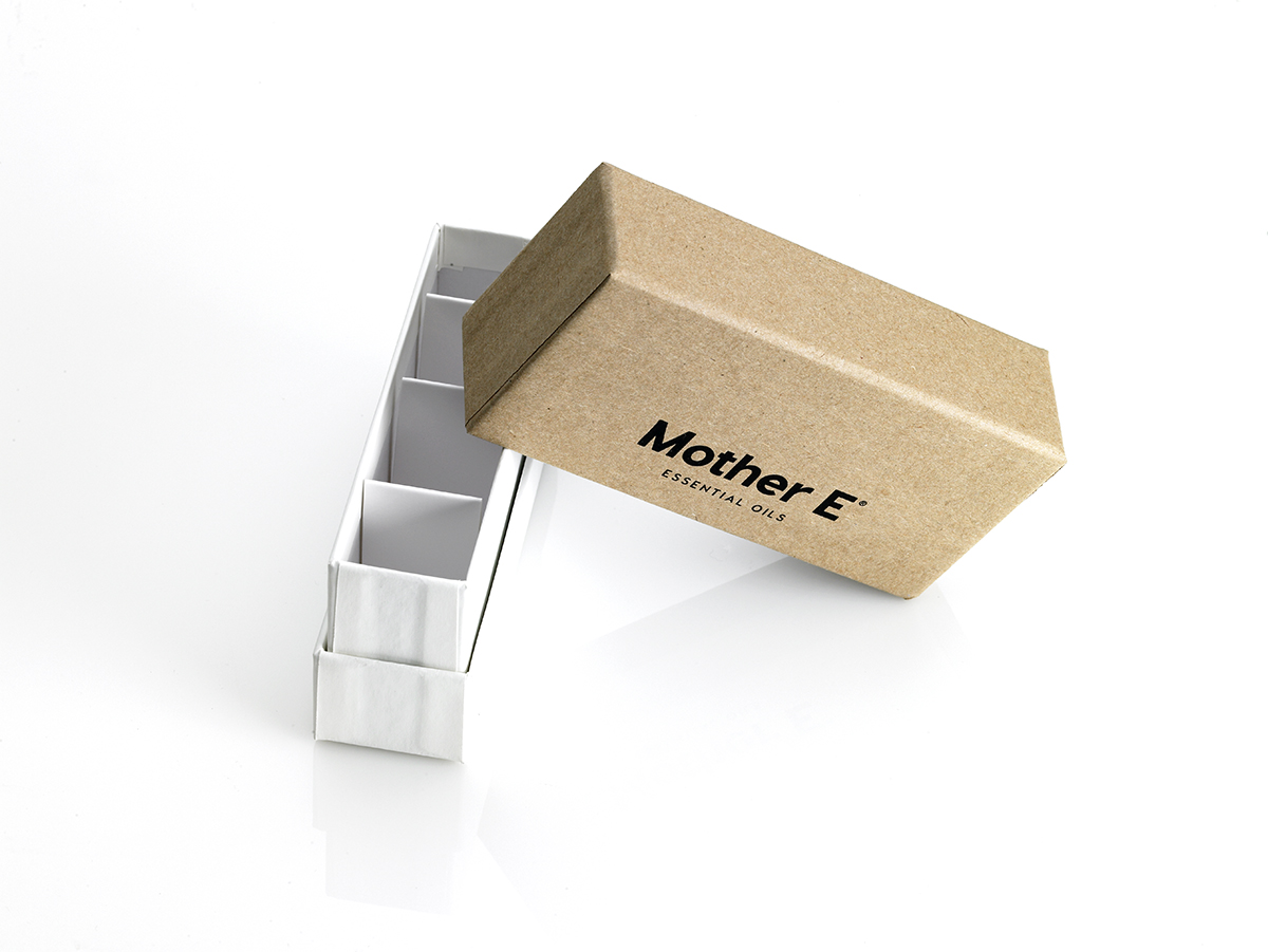 custom ecommerce packaging, box, essential oils